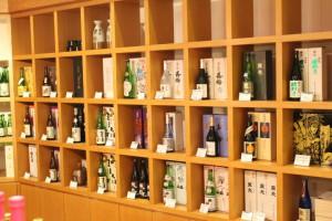 置賜地酒・ワインエリア