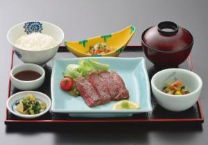 米沢牛 カットステーキ膳(60g)