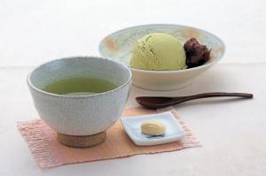 うこぎセット〈うこぎ茶&うこぎアイス〉