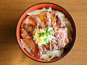 米沢牛ステーキ丼_up